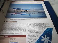 Airlines Archiv Französisch Polynesien Air Tahiti Nui Südseeträume 4S
