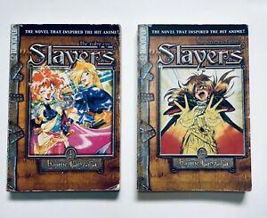 Slayers Hajime Kanzaka Tokyopop Manga Novel Vol 1-2 Rui Araizumi Free Shipping