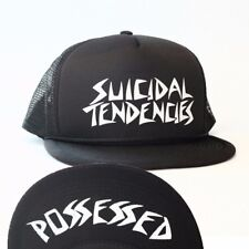 Dogtown X Suicidal Tendencies OG POSSESSED Skateboard Trucker Hat BLACK