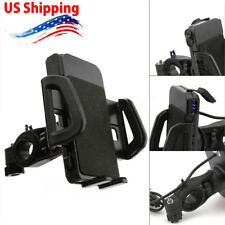 """Motorcycle 4-6"""" Phone Holder USB Charger For Honda Goldwing 1500 1800 1200 US"""