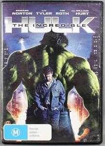 "THE INCREDIBLE HULK (DVD, 2008) BRAND NEW / SEALED ""REGION 4"""