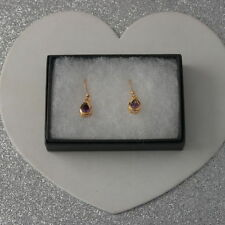 Unbranded Natural Pear Costume Earrings