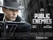 PUBLIC ENEMIES Movie POSTER 30x40 Johnny Depp Christian Bale Billy Crudup
