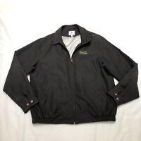Peter Millar Men's Humana Challenge Palm Springs Golf Full Zip Black Jacket XL