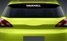 Rear Window Sticker Fits Vauxhall Corsa Premium Qaulity Decals Graphics RL106