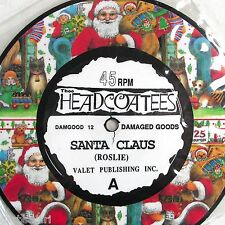 Thee Headcoatees Holly Golightly Santa Claus Picture 7in Vinyl Christmas UK 1992