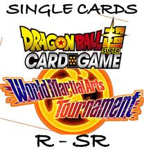 Dragon Ball Super Card Game - SIngles - World Martial Arts Tournament - SR, R