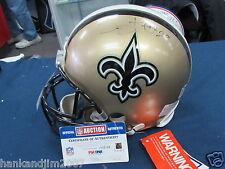 Sammy Knight Autographed New Orleans Saints Full Size Authentic Helmet PSA/DNA