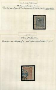 AFGHANISTAN: 1925-1926 Used - Ex-Old Time Collection - 2 Part Pages (40491)
