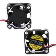 DC 12v 2-pin 0.06a 25x25x10mm PC Computer CPU System Brushless Cooling Fan 2510