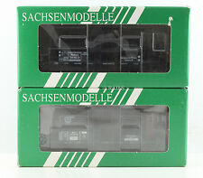 SACHSENMODELLE HO GAUGE PAIR OF ASSORTED TANK WAGONS