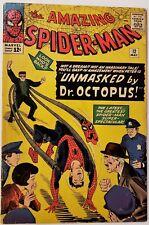 THE AMAZAING SPIDER-MAN #12 May 1964, 3rd Doc Octopus SOLID MID GRADE KEY NICE!