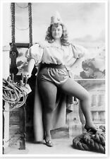 Molly Fuller Stage Theatre Actress Silver Halide Publicity Photo