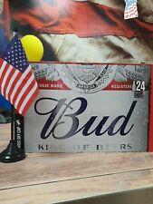 BUD Bier 24 x 300 ml  Nr. 1 USA Bier  ALC. 5.0 % Vol.EUR 0,29 pro 100 ml