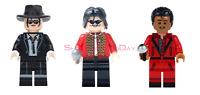 MICHAEL JACKSON BAD THRILLER LEGO MOC CUSTOM MINIFIGURE TOYS BLOCKS BRICKS