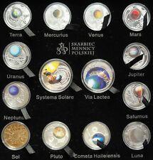 2009 Poland Polen Systema Solare Exclusive BOX 14 pcs. Silver coins RARE