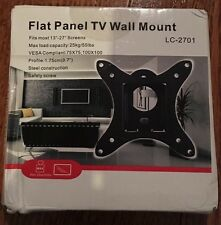 Flat Panel Tv Wall Mount LC-2701 NIB New In Box
