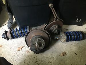 Ford Escort Mk2 front Struts Discs And Calipers