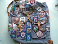 More details for girl guide, brownies vintage rucksack