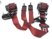 15-18 Dodge Challenger Red Seat Belts Belt Restraint set of 5 Mopar Genuine OEM