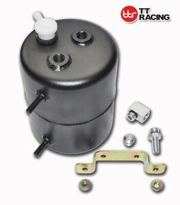 Black Vacuum Canister Reservoir Brake Booster Can Tank for Car Holden Ford Chev
