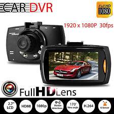 "1080P 2.7"" LCD Car DVR Dash Camera Cam G-sensor IR Night Vision Pro New FS"