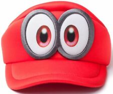 Super Mario Bros - Odyssey Cappy Kids Curved Hat - Unisex - Red