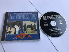 Check Out Your Mind / Times Have Changed ~ Impressions  CD - MINT 5023224084323
