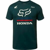 Fox Racing Honda Premium Men's T-Shirt Tee Navy M L XL XXL  NEW