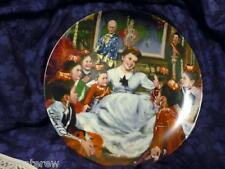 Mib W Coa Getting To Know You The King And I Collector Plate William Chambers
