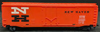 TYCO NH NEW HAVEN 35688 BoxCar Vintage. HO SCALE H0, ORANGE