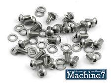 VW Beetle Motor Acero Inoxidable Tornillos de botón de artículos de estaño 1200 1300 1500 1600 1302 1303