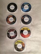 7 UMD Movies Sony PSP National Treasure 2, Tomb Raider, Dawn Of The Dead, 4 More