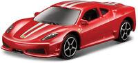 Ferrari 430 Scuderia rot Maßstab 1:64 von bburago