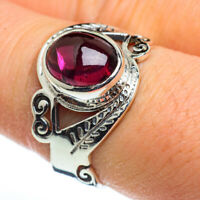 Garnet 925 Sterling Silver Ring Size 8.75 Ana Co Jewelry R45636F