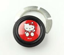 Red Hello Kitty Horn Button MOMO SPARCO GRANT QUANTIES Steering Wheel HONDA