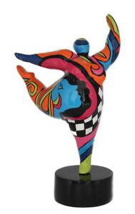Dancing Ballerina - Hommage an Niki de Saint Phalle -Nana Molly dicke Frau 20117