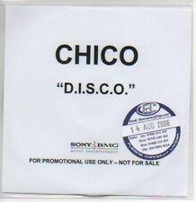 (M871) Chico, Disco - DJ CD