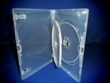DVD COVER/CASES CLEAR SINGLE 2 DISC - 14MM