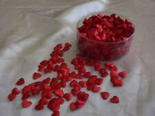 Satinherzen, Streudeko, Streuartikel, Hochzeit, Deko, 800 St., Herzen,  rot