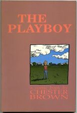 The Playboy Graphic Novel A Comic Book by Chester Brown 1st Printing TPB GN NM+
