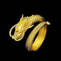 Einstellbare Open Band Daumenringe Paar Match Ringe Hochzeitsgeschenke Gold O2X9