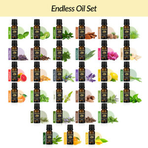 Endless Essential Oil Set Aromatherapy Gift Kit Pack 100% Pure Oils Diffuser