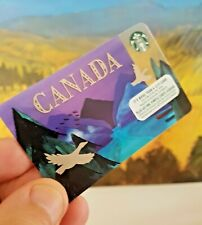 "Starbucks Card  ""Canada Goose & Mountains"" - Limited NEW Unused MINT 6147"