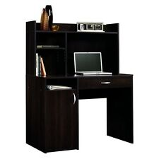Computer Desk w/ Hutch Wood Small Cherry Home Office Kids Study Room Furniture