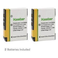 2x Kastar Battery for Kodak KLIC-7002 EasyShare V530 V530 Zoom V603 V603 Zoom