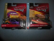 "Lot of 2 Disney Cars Diecasts with ""Florida Ramone"" & ""Marilyn"""