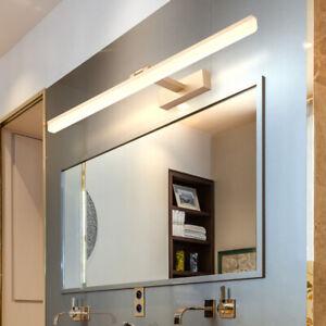 LED Wall Fixture Acrylic  Makeup Mirror Front Vanity Light Washroom Restroom New