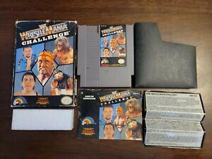 WWF WrestleMania Challenge (Nintendo NES) Complete - Tested - Authentic