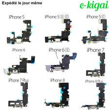 DOCK Connecteur de CHARGE IPHONE 8/8+ / 7/7+/6/6S/5/5S/5C/SE PLUS Port USB Nappe